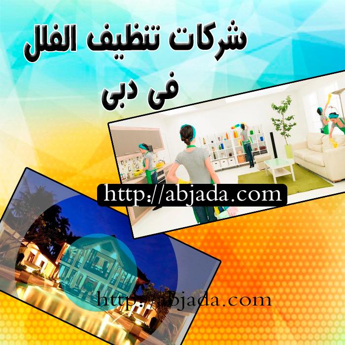 شركة تنظيف الفلل في دبي